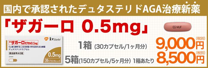 国内で承認されたデュタステリドAGA治療新薬